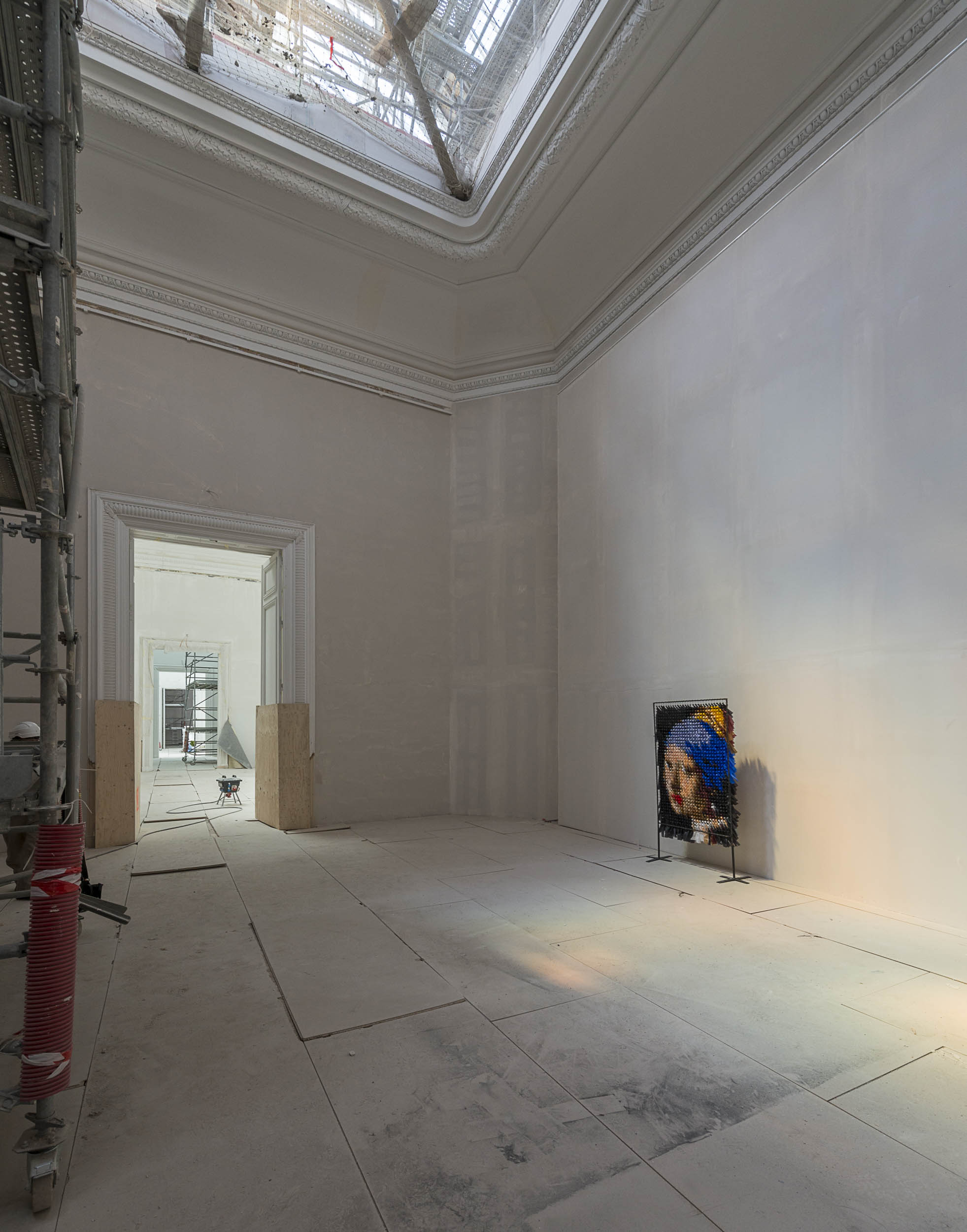 oeuvre de Violaine dejoie robin au musée des beaux arts de Nantess