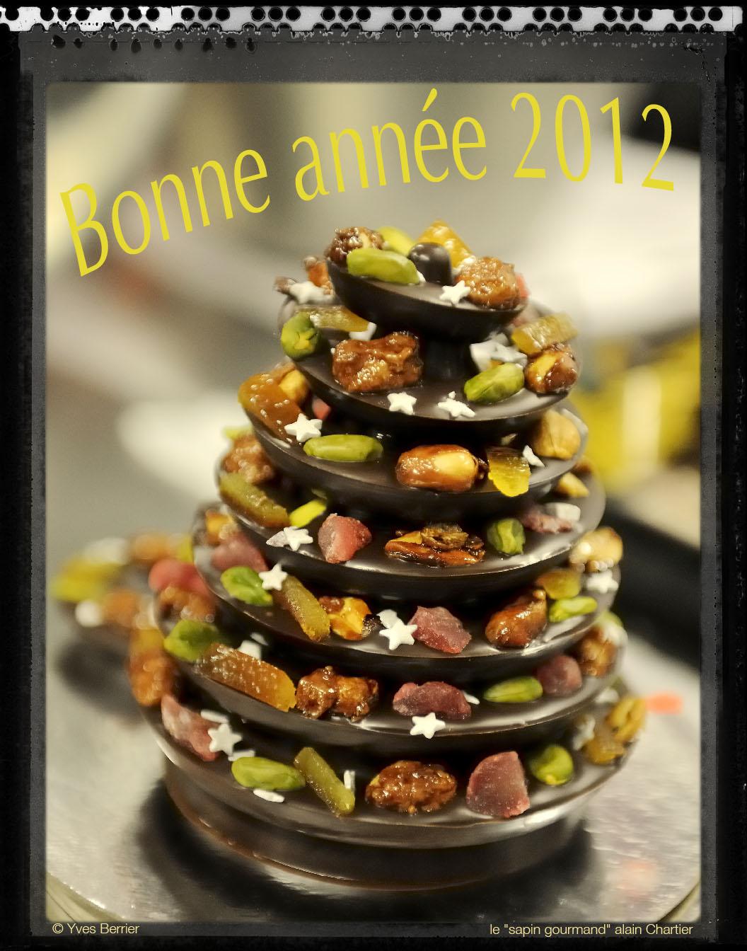 prise de vue culinaire, carte de voeux sapin gourmand Alain Chartier