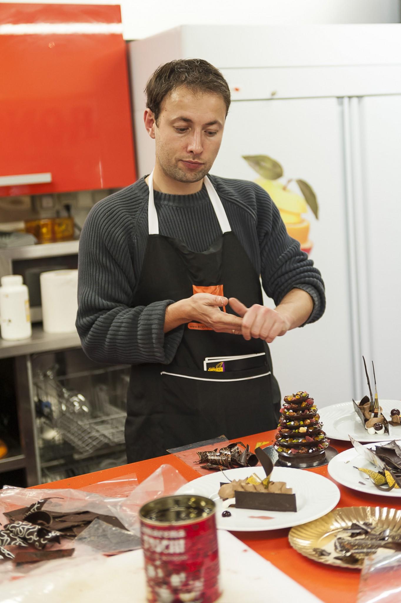 cours de cuisine, Alain Chartier