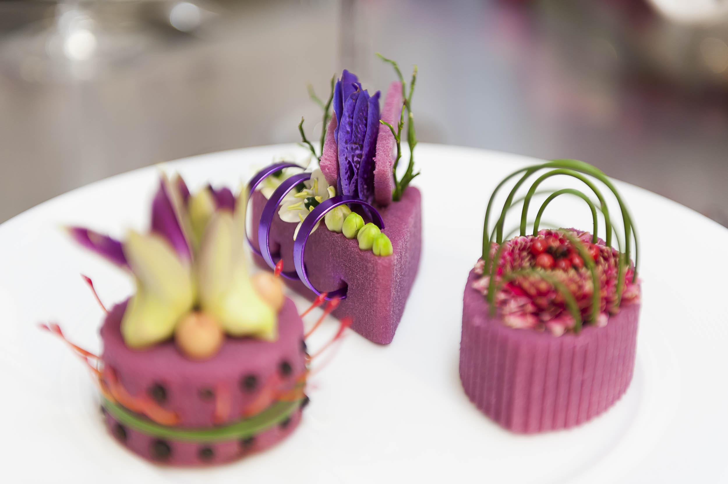 Créativité florale et culinaire par Mickael Rault