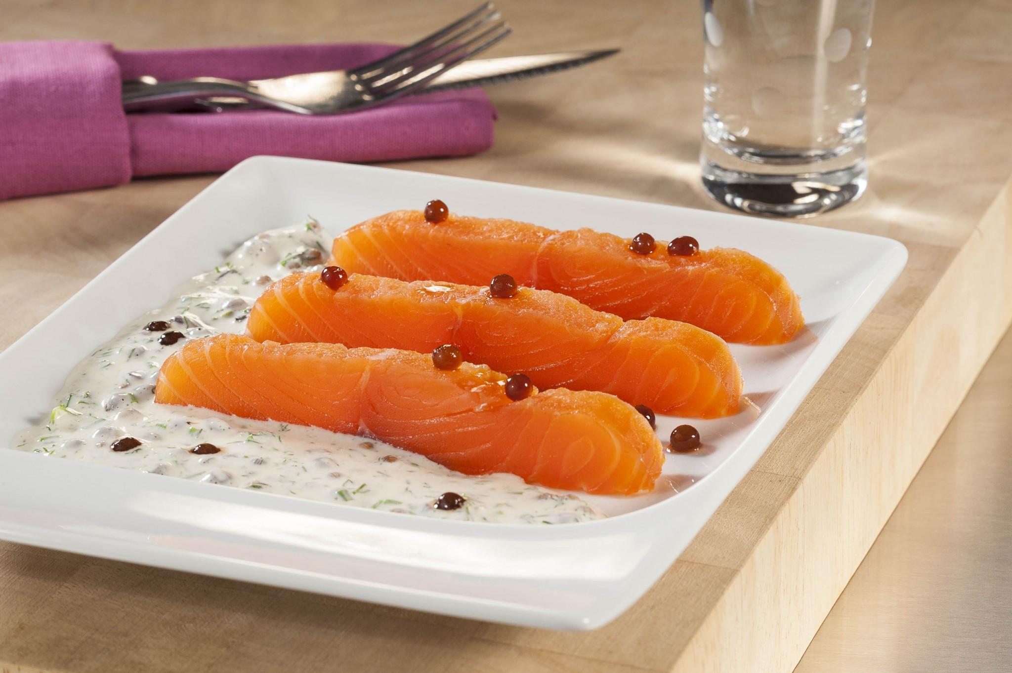photographie culinaire, saumon gravalx