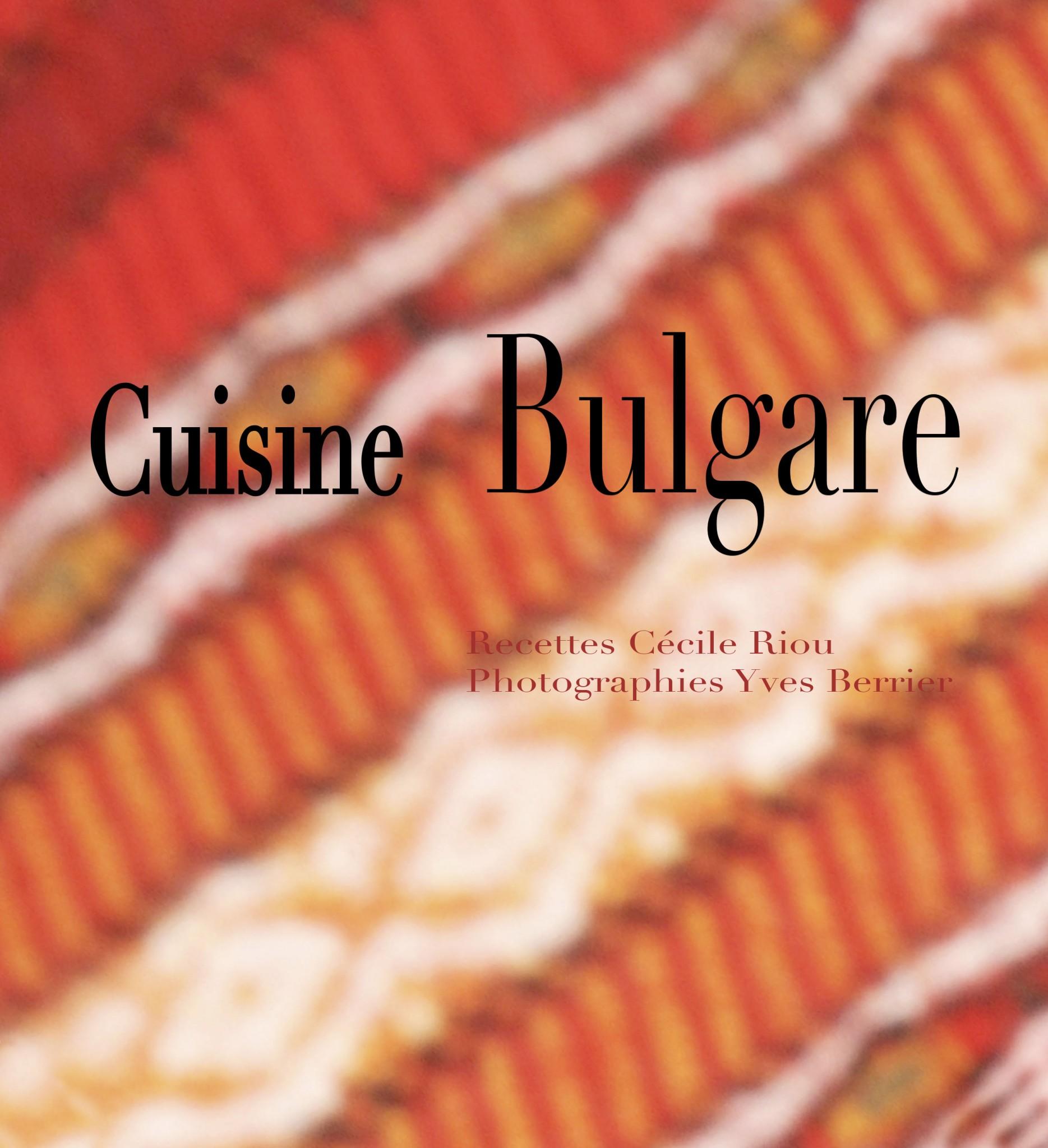 Prise de vue culinaire, recette Bulgare