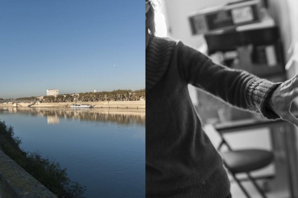 Reportage photo, stage de création du documentaire sonore avec Kaye Mortley et l'association Phonurgia Nova à Arles