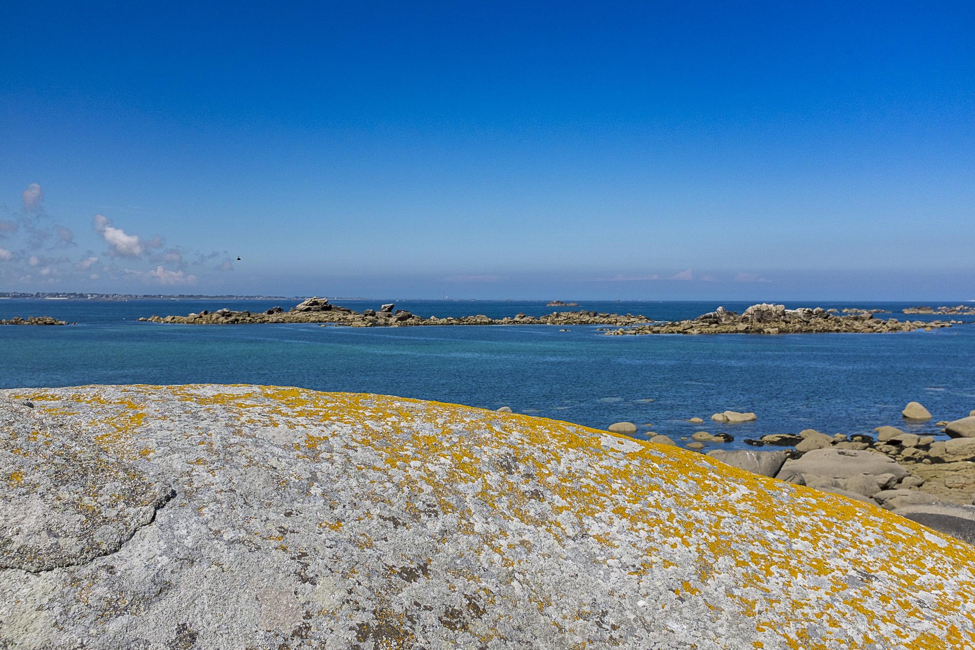Kerlouan plage de Neiz Vran, chaos granitique
