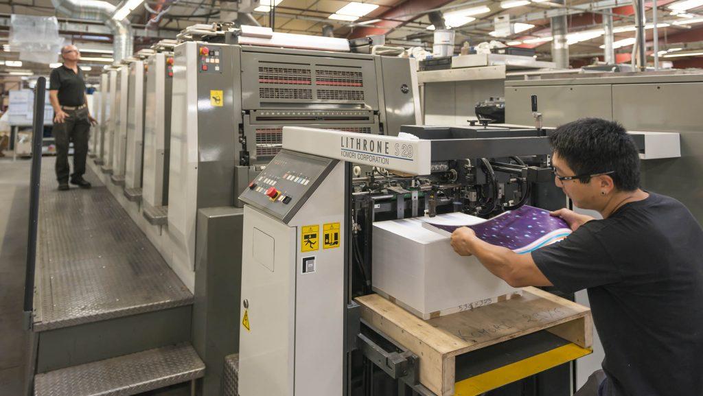 photographie de reportage à l'usine Thibault Bergeron