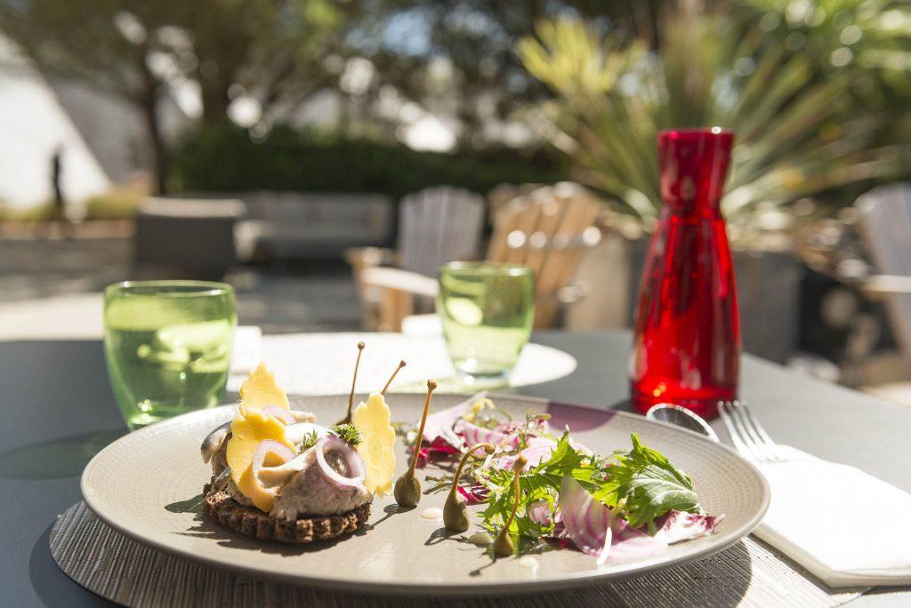 photo culinaire, Pierre-Yves Lorgeoux cuisinier à la thalasso de Carnac