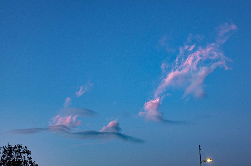nuages en bretagne