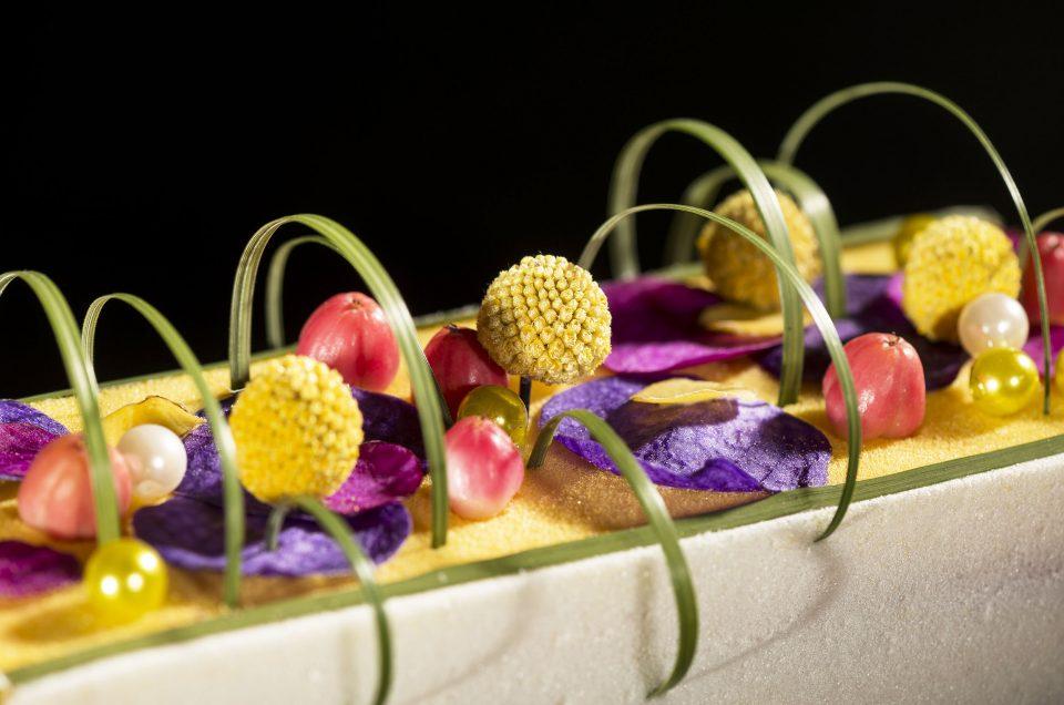 L'art floral enchante la gastronomie
