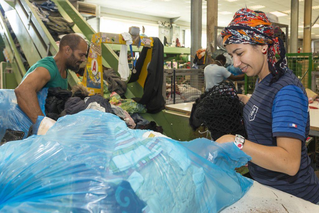 ouvriere textile Retritext