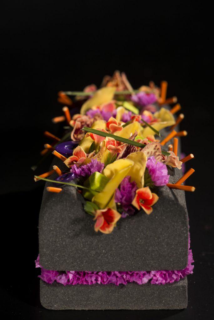 Buche fleur mickael Rault pour Thibault Bergeron