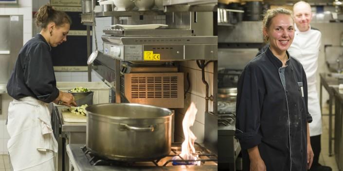 Marine cuisinière