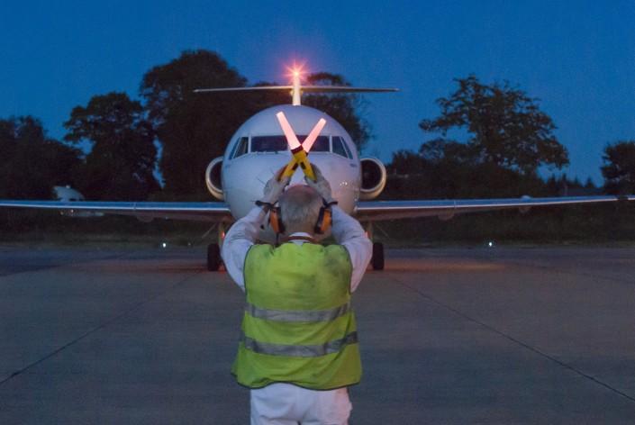 Agent de piste aéroport de Lorient